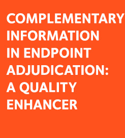 Complementary Information in Clinical Adjudication