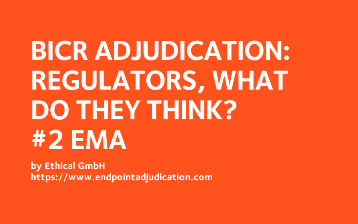CEC Adjudication: Regulators, what do they think? #2: EMA