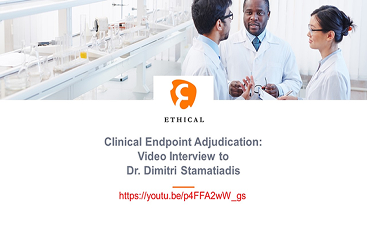 Clinical Event Adjudication: Interview with Dr Dimitri Stamatiadis