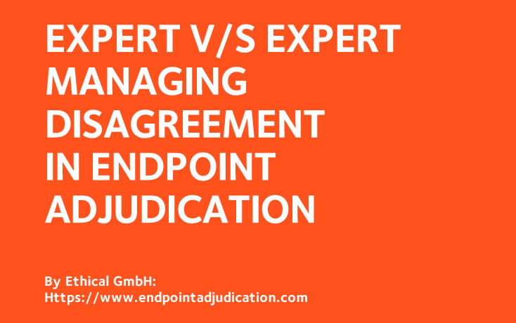 Managing Disagreement in Endpoint Adjudication