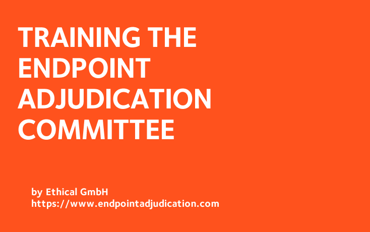Training the Endpoint Adjudication Committee
